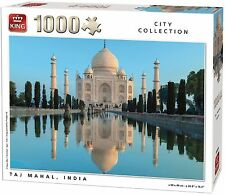 Architecture Cardboard 1000 - 1999 Pieces Jigsaws & Puzzles