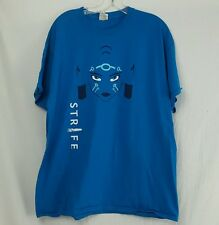 S2 Games Strife Blazer Scout of The Stars T Shirt Tee Blue Cotton XL
