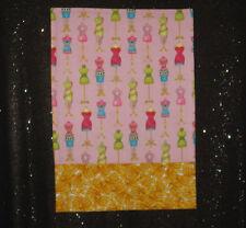 Handmade Pillow Case - Travel/Toddler - Dress Forms - Multi color