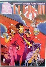 STAR COMICS MITICO N.29 MONKEY PUNCH PRESENTA LUPIN III 1996