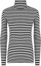 Striped Collared Other Tops for Women