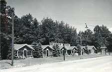 A View of Benton's Resort, Houghton Lake MI RPPC