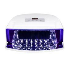 48W UV Lamp LED Nail Dryer Curing Gel Nails Polish Manicure Timer Salon Beauty
