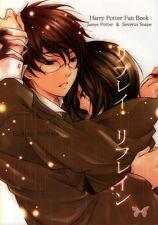 Harry Potter BL Boy's Love Doujinshi Comic James x Snape Replay Refrain Prt Mayu
