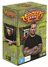 Monster Garage :Seasons 1 - 4 Box Set (DVD, 2012, 22-Disc Set)  Region 4