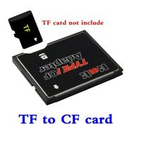 Memory Card Reader Adapter Micro SD TF CF Micro SDHC to Compact Flash Type