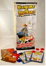 Bankers & Brokers 3 Dimension Board Game Executive Business Success Wall Street