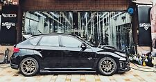 RPG STi Add-on Carbon Side Skirt Set for 08-14 Subaru Impreza WRX STi GRB GVF 09