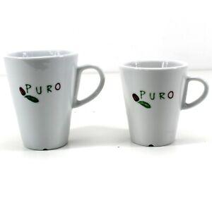 PURO Design Kaffee-Tassen von Miko 20 oder 30cl Becher Cup Porzellan  0921
