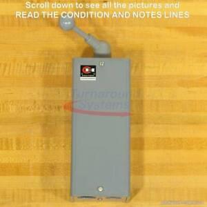 Cutler-Hammer 9402H275A Drum Switch, NEMA Size 0, Two Speed, Metal, NEMA 1, NEW!