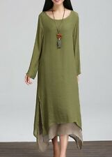 BNWT Asymmetric Hem Long Sleeve Faux Two Piece Dress size XXL = 18/20