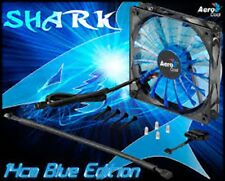 Aerocool Shark 140x140x25 Ventola Raffreddamento A Led Pc da 140mm 1500 Giri Blu