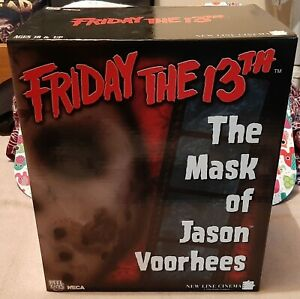 NECA FRIDAY THE 13TH THE MASK OF JASON VOORHEES BRAND NEW MIB REEL TOYS HORROR