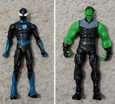 "Marvel Legends Lot 6"" Custom Spiderman And Hulkling"