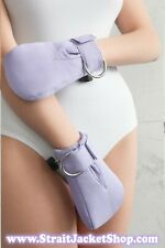 Purple ABDL Safety Mittens - Restraining soft padded mittens Segufix