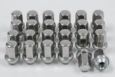 24 New 9596069 12x1.5 GM Factory OEM Chrome Polished Stainless Wheel Lug Nuts