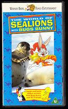 BUGS BUNNY (WARNER BROS.) - THE WORLD OF SEALIONS - VHS PAL (UK) VIDEO - RARE