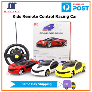 [Sydney Stock]Kids Toy Remote Control Wireless Racing Cars Kids Gift