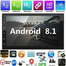 "Android 8.1 GPS Navigation WiFi 7"" 2Din Quad Core Car Stereo MP5 Player FM Radio"