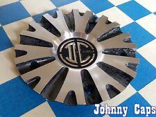2 CRAVE Wheels [67] USED Metal Center Cap # N01-CAP < GRAY & SILVER (QTY. 1)