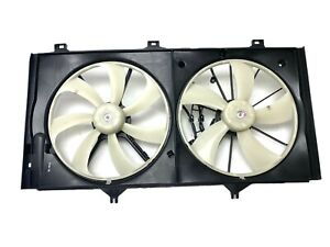 Import Direct Dual Radiator Cooling Fan For Lexus ES350 03-13 Toyota Camry 03-11