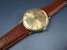 Vintage Bulova 10k Gold RGP Mens Hand Wind Dress Watch 17J 11ALC 17J 1967 NICE!