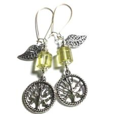 Handmade Tibetan Silver Drop/Dangle Fashion Earrings