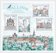 Frankrijk / France - Postfris / MNH - Sheet European Capitals, Tallinn 2018