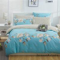 Duvet Cover Set 100% Cotton Family Bedding Sets Comforter Cover Bed Sheet Set