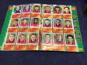 Merlin's Premier League 96 sticker Team Pages Manchester United
