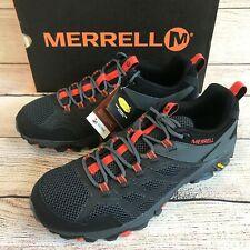 Merrell Mens Moab FST 2 Hiking Shoes Size 13 Black Gray Orange NIB