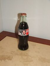 COLLECTIBLE Coke Bottle Full 1999 Coca-Cola Racing Family Dale Earnhardt # 3