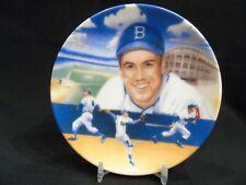 """1987 Sports Impressions Duke Snider Brooklyn Dodgers MLB 4"""" Mini Plate"""