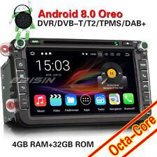 Android 8.0 Autoradio DAB+GPS OPS CD DVD Für VW Passat Golf Polo Tiguan Eos Seat