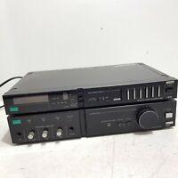 SANSUI Vintage Intergrated Amplifier Hifi Black A-M70 + AM/FM Tuner T-M70L