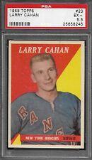 PSA 5.5 1958 TOPPS HOCKEY #23 LARRY CAHAN