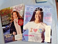 2 X Girl Scout LEADER MAGAZINES 2008 Internet Safety, STEM, Camping Combine Ship