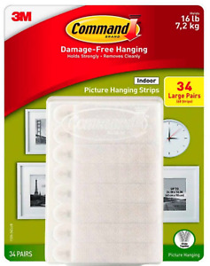 Command 1370474 Picture Hanging Strips - White