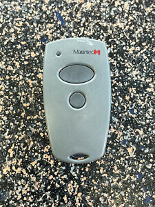 Marantec Garage Door Opener Remote M3-2312 Mini Transmitter & Visor Clip