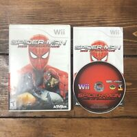 Spider-Man: Web of Shadows (Nintendo Wii, 2008)- Complete