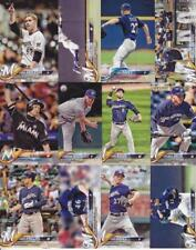 2018 TOPPS Series 1 MILWAUKEE BREWERS team set (13 cards) WOODRUFF RC