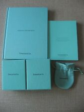 Tiffany & Co original Two Boxes & Padding , Pouch and Two Books
