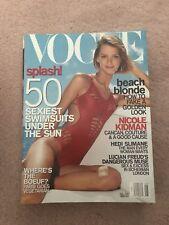 Vogue Magazine May 2001-Carmen Kass