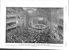 Paris bal des petits lits blancs Opéra Garnier gala de charité ILLUSTRATION 1926