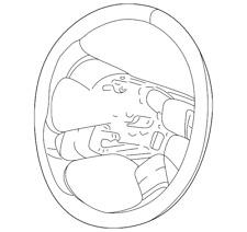Genuine GM Steering Wheel 25998481