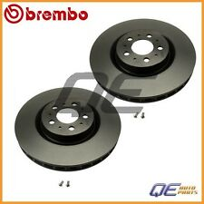 2 Front Brake Discs 25822 For: Volvo S60 V70 2004 2005 2006 2007 R Model 330mm