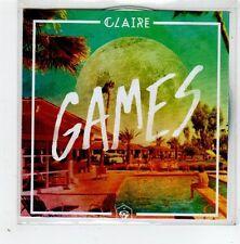(GD714) Claire, Games - 2014 DJ CD
