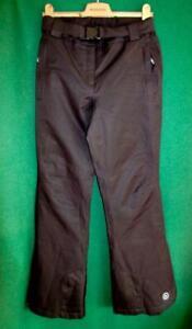 KILLTEC Black UK 10 Level-3 Insulated Ski Trousers SALOPETTES Ladies *Immaculate