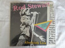 Rod Stewart - Absolutely Live - Lp Album - NEW!! STILL IN ORIGINAL WRAPPER!!!!