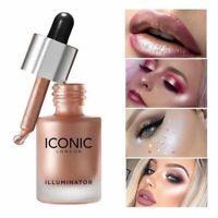 Liquid Highlighter Concealer Face Makeup Illuminator Oil Glow Brighten Shimmer